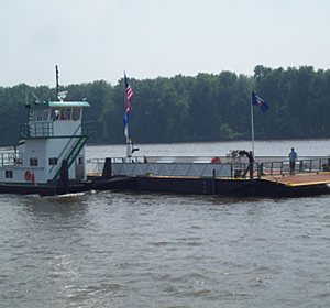 - Cassville Ferry: The towboat and barge were both designed and built to meet USCG rule.  The project was funded by the American Recovery and Reinvestment Act (ARRA). [Click Image to Read More...]